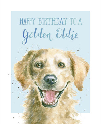 Card - Happy Birthday to a Golden Oldie