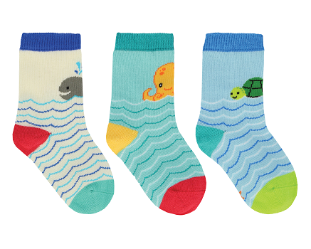 Baby Novelty socks ages 12 to 24 months 3 pack