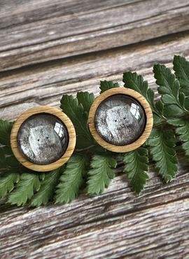 Stud Earrings of a Wombat by Myrtle & Me - (Made in Tasmania)
