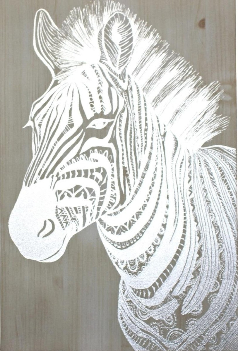 Picture - canvas - zebra
