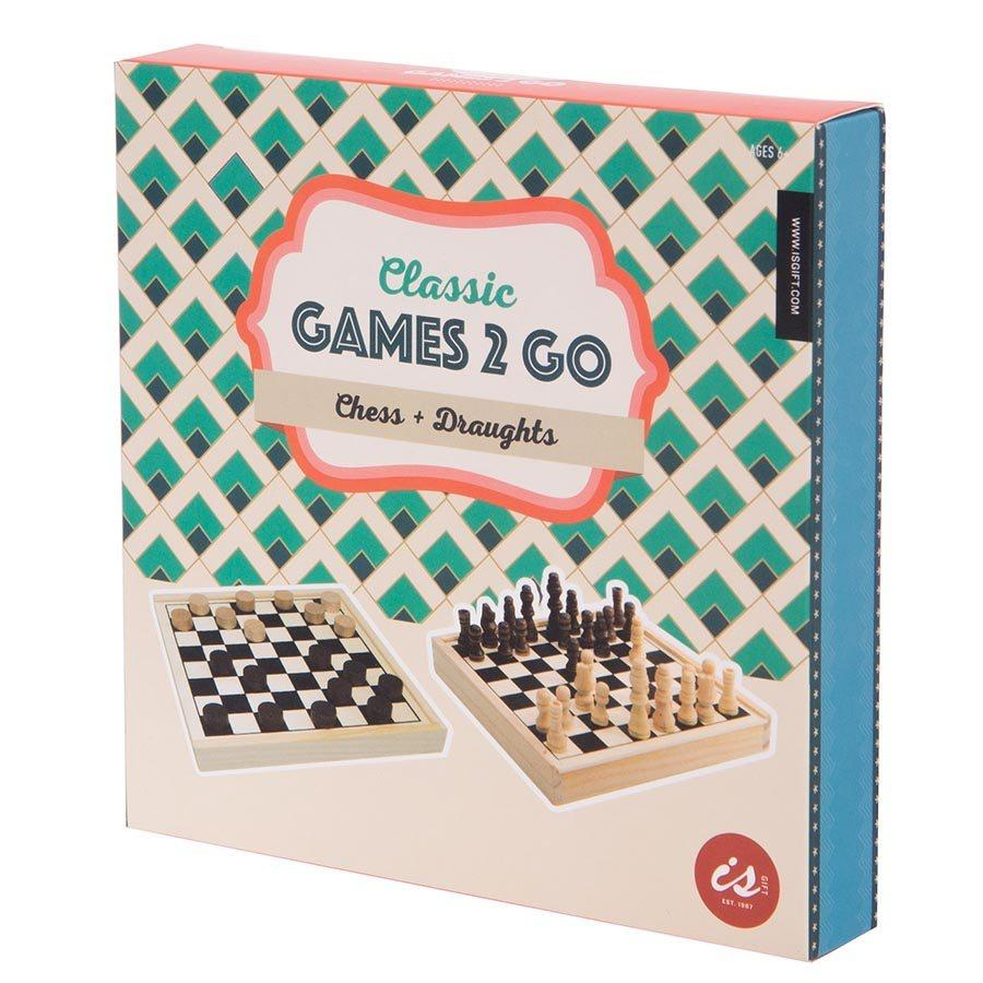 Classic Games 2 Go - Chess & Checkers - Popcorn Street