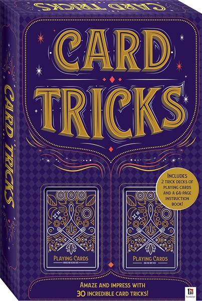 Card Tricks Kit with 30 of the Best Magic Card Tricks!