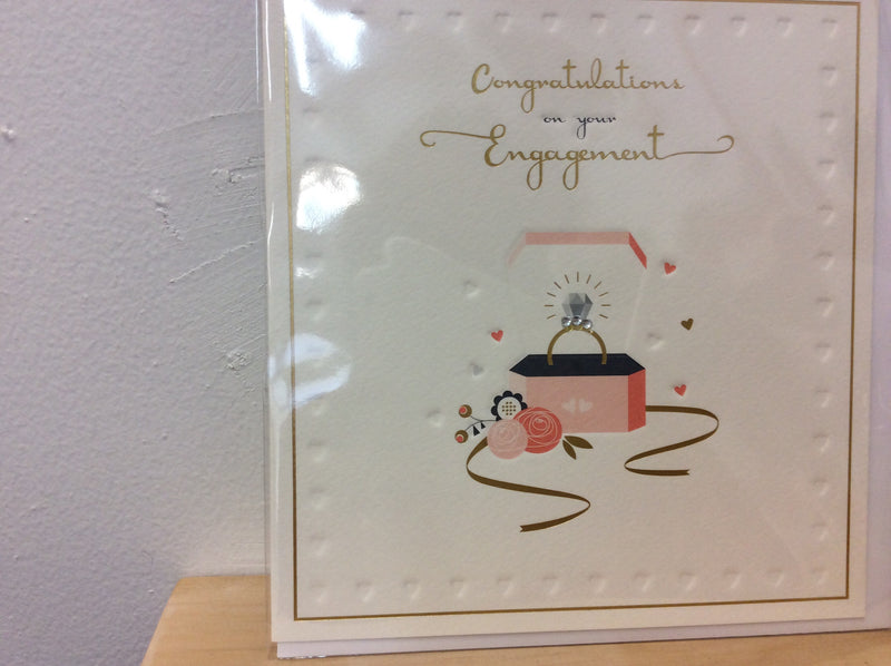 Gift card - congratulations on your engagement