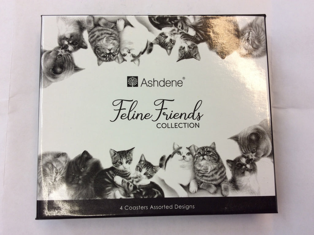 Coasters - Feline Friends Collection from Ashdene