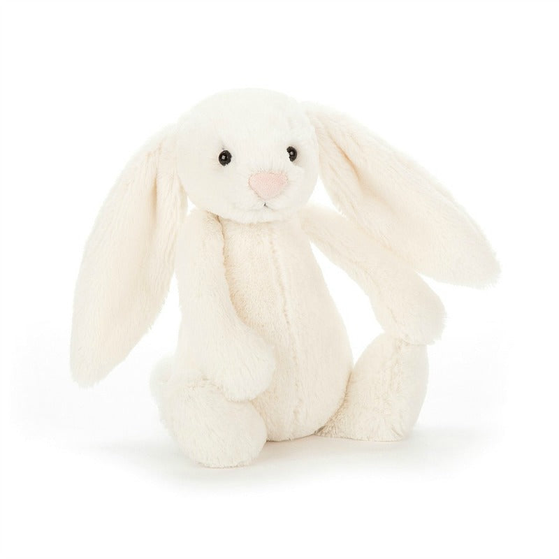 Jellycat - Small Bashful Cream Bunny