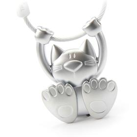 Exercising Cat on Keyring by Troika