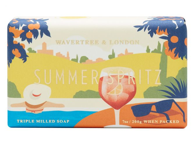 Summer Spritz Scented Soap by Wavtertree & London