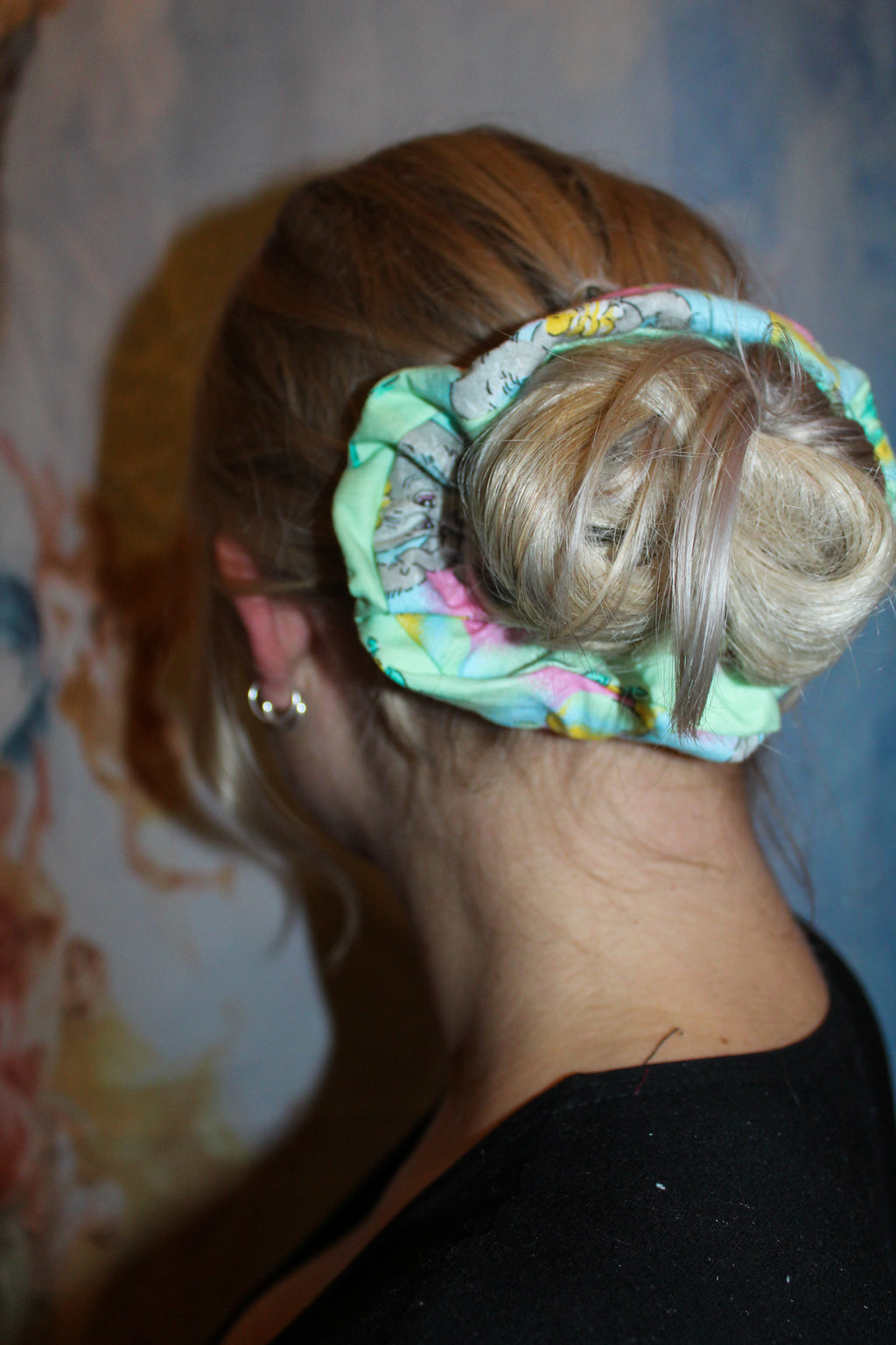Back to the past Scrunchie