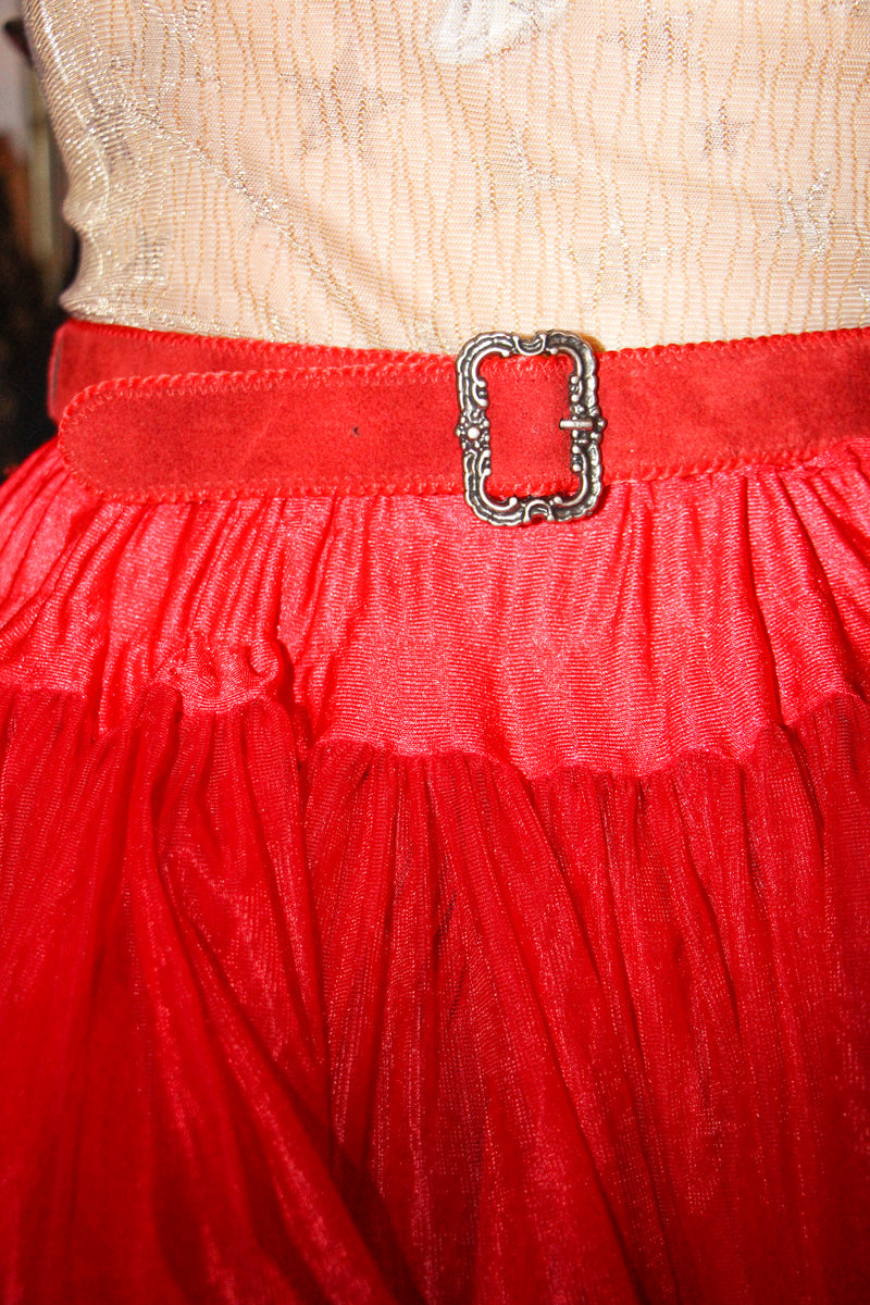 Red heart lover belt