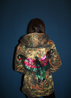 Born to be a phoenix Winter Parka