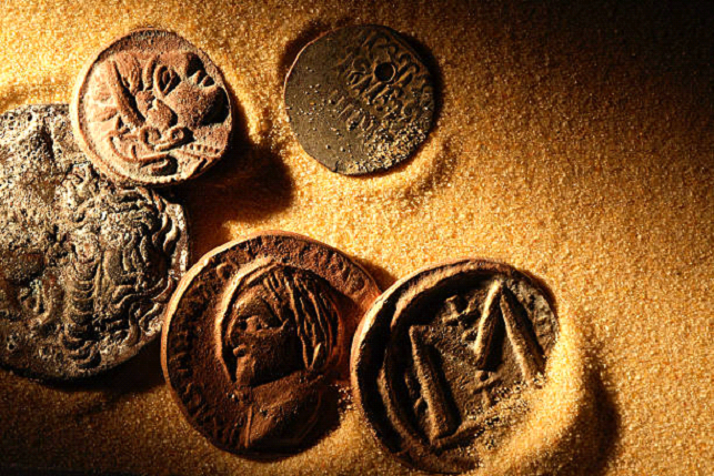 Ancient Coins of the Desert