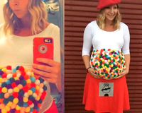 9 Funny Halloween Costumes for Pregnant Women