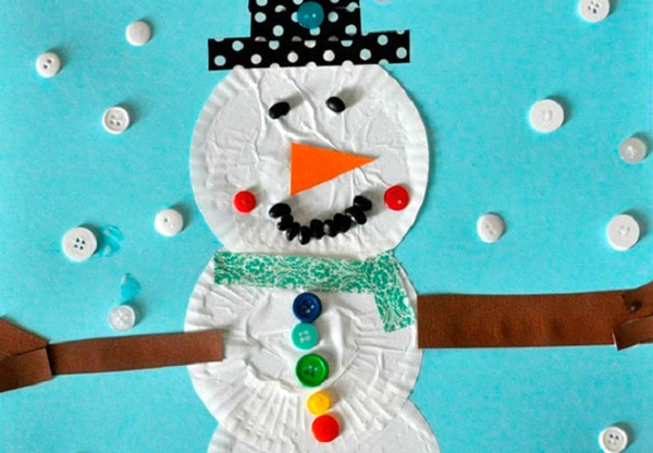 Kids Crafts: 5 Easy to Make Snowman Using Recycled Materials