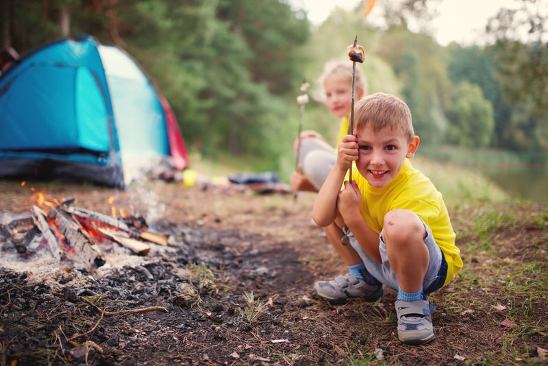 10 Camping Ideas for Teaching Kids About Camping and Nature!