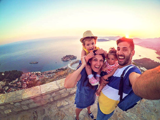 safe route when hiking with kids