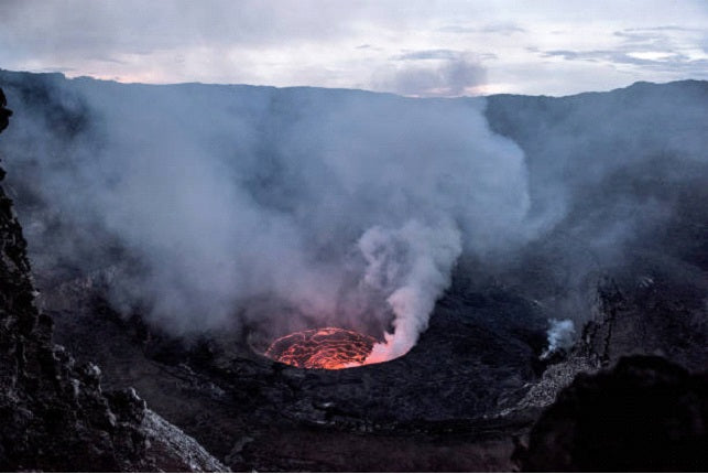 Mount Nyiragongo, Democratic Republic of the Congo