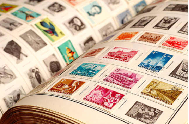 old postage stamps worth