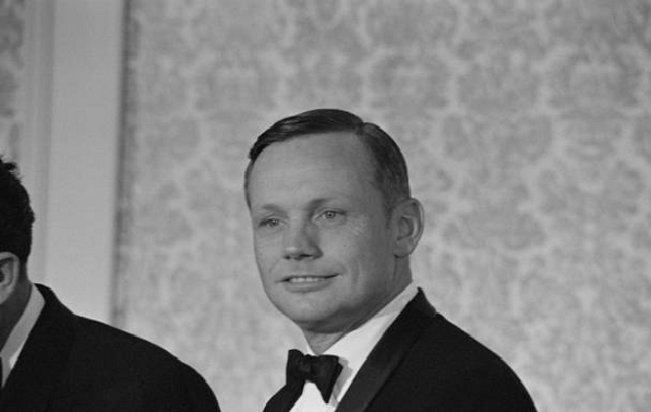 neil armstrong old photo with tie