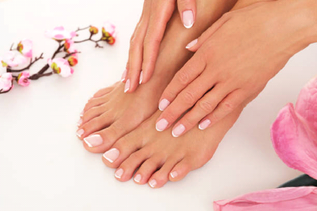 growing nails in your feet