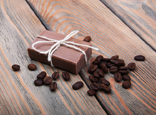 Soap Made of coffee
