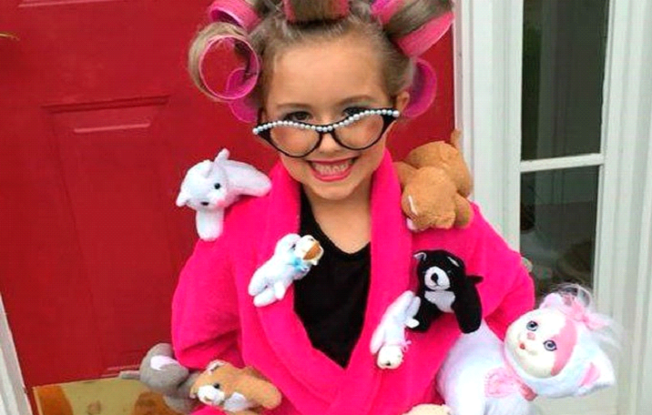 crazy cat lady costume for kids