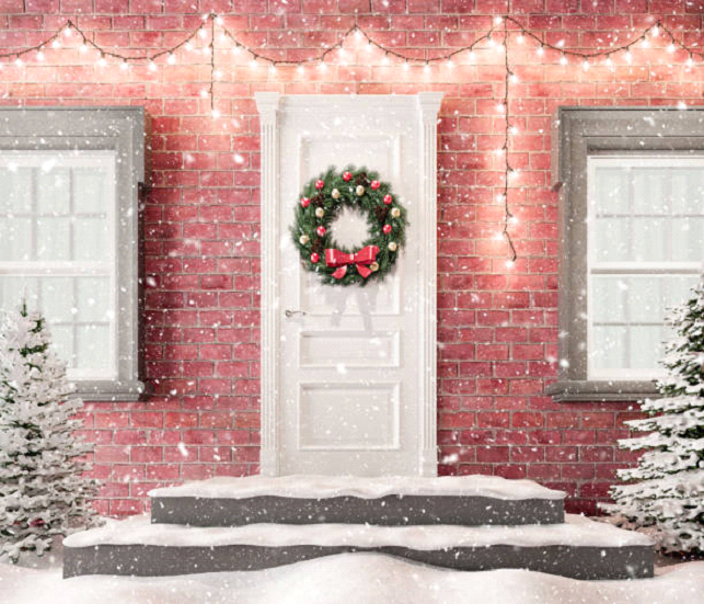 The best ideas to decorate your home at Christmas Door