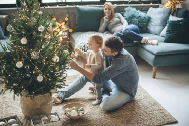 Unique Family Inspired Christmas Tree image