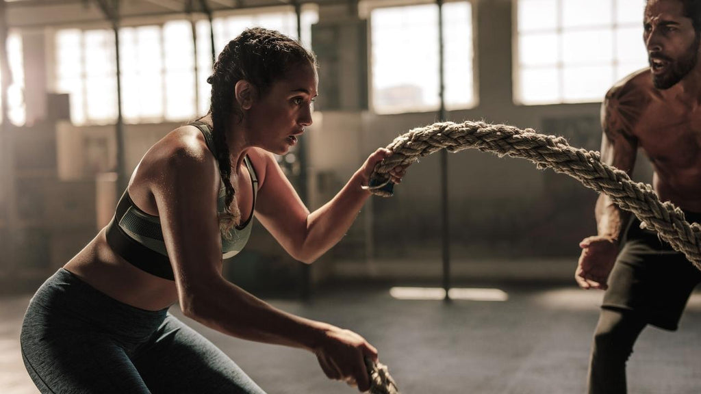 ropes workout in crossfit