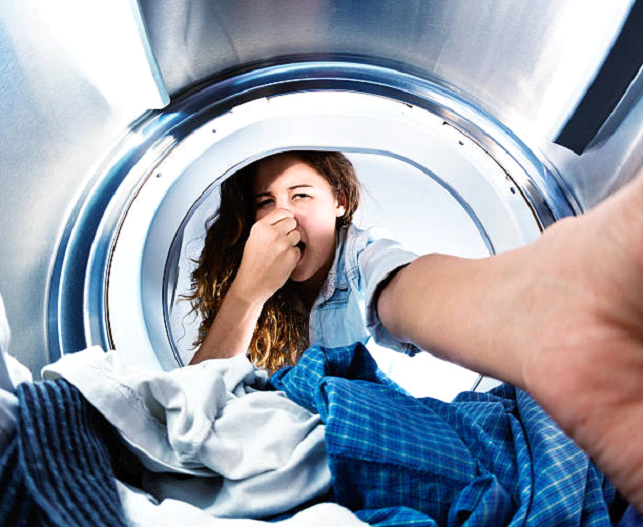 how to remove odors from washing machine
