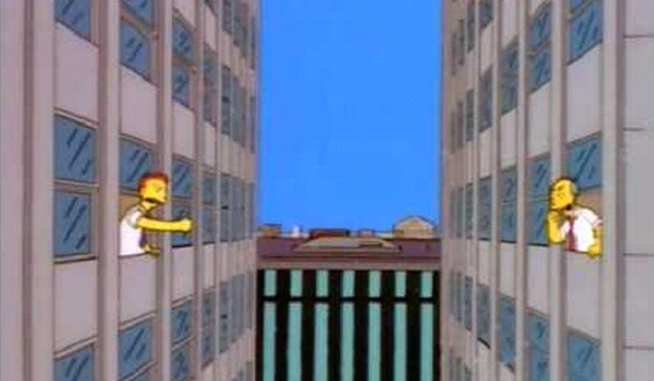 the simpsons predicted 9/11