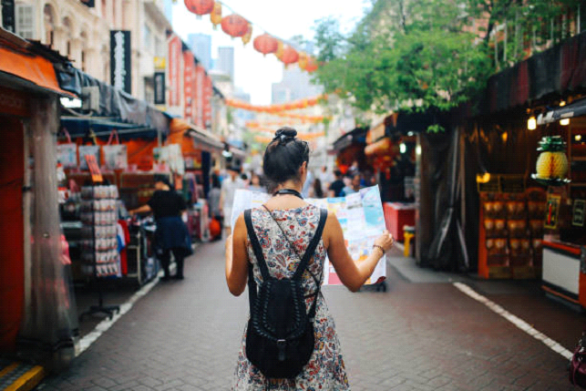 traveling alone in asia