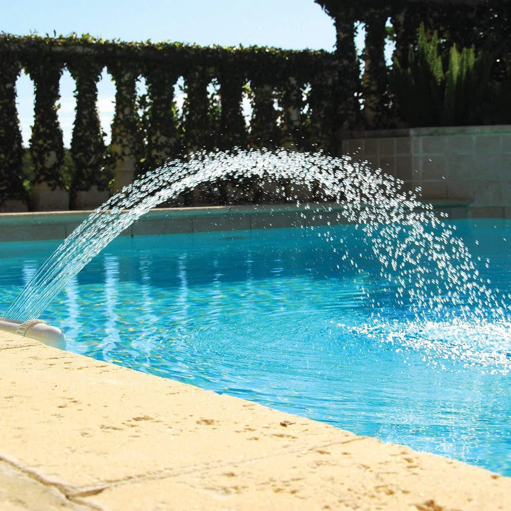 install a waterfall in your pool