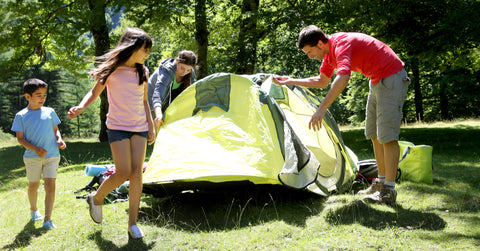 family fun ideas for camping