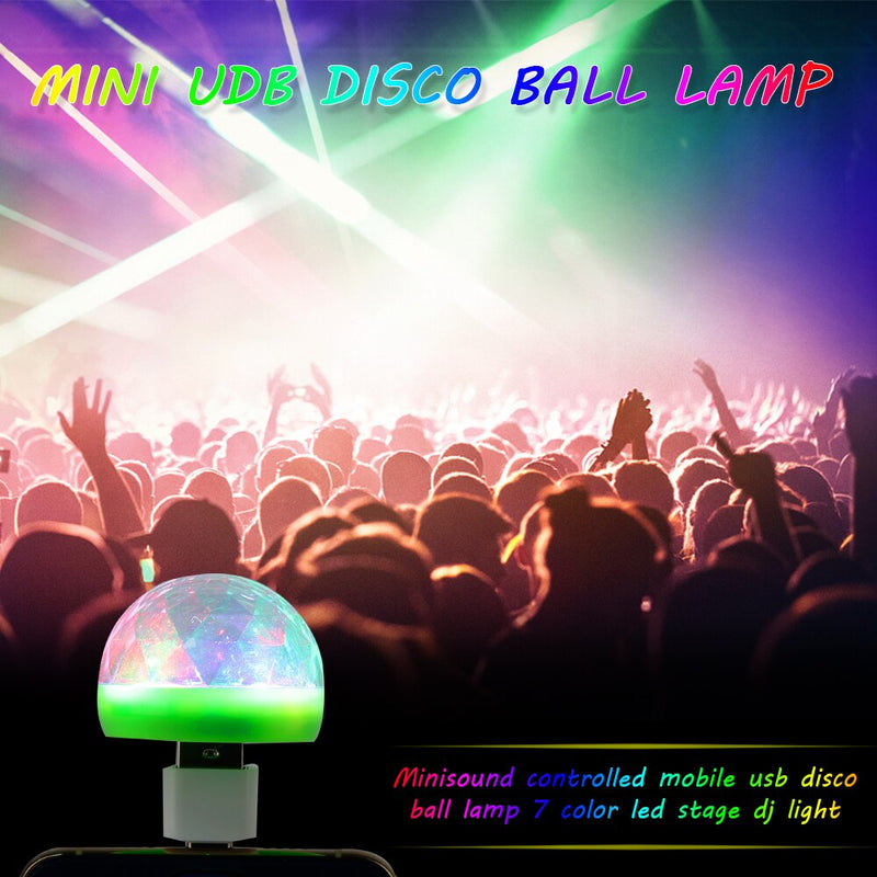 Mushroom Disco Light (USB)