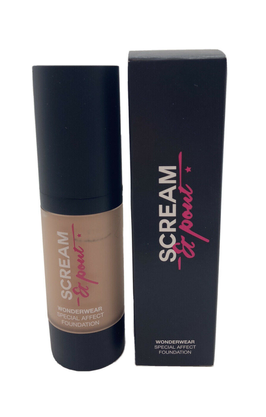 SCREAM&POUT WONDERWEAR SPECIAL EFFECT FOUNDATION 30ml SET OF 2 'IVORY'