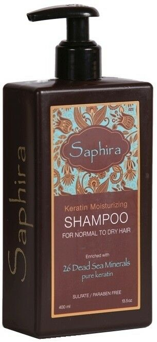 Saphira 250ml Keratin Normal to Dry 250ML Shampoo - BEAUTY FOR A FIVER