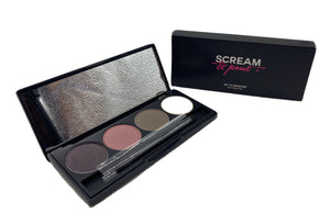 SCREAM & POUT SET TO SMOULDER EYE PALETTE 4x1.5g SET OF 2