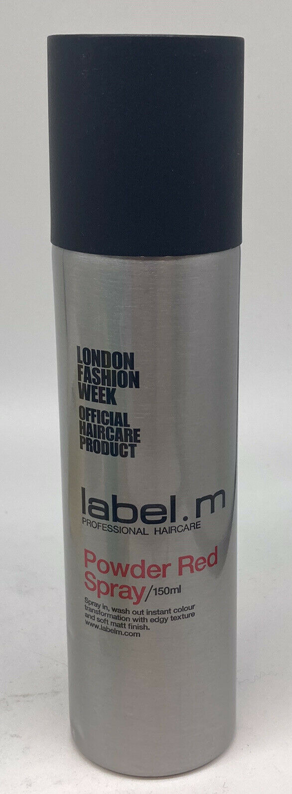 LABEL.M POWDER RED SPRAY 150ml SPRAY IN WASH OUT INSTANT COLOUR