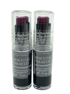 WET N WILD SUGAR PLUM FAIRY MEGALAST LIP COLOR 3.3g (SET OF 2)