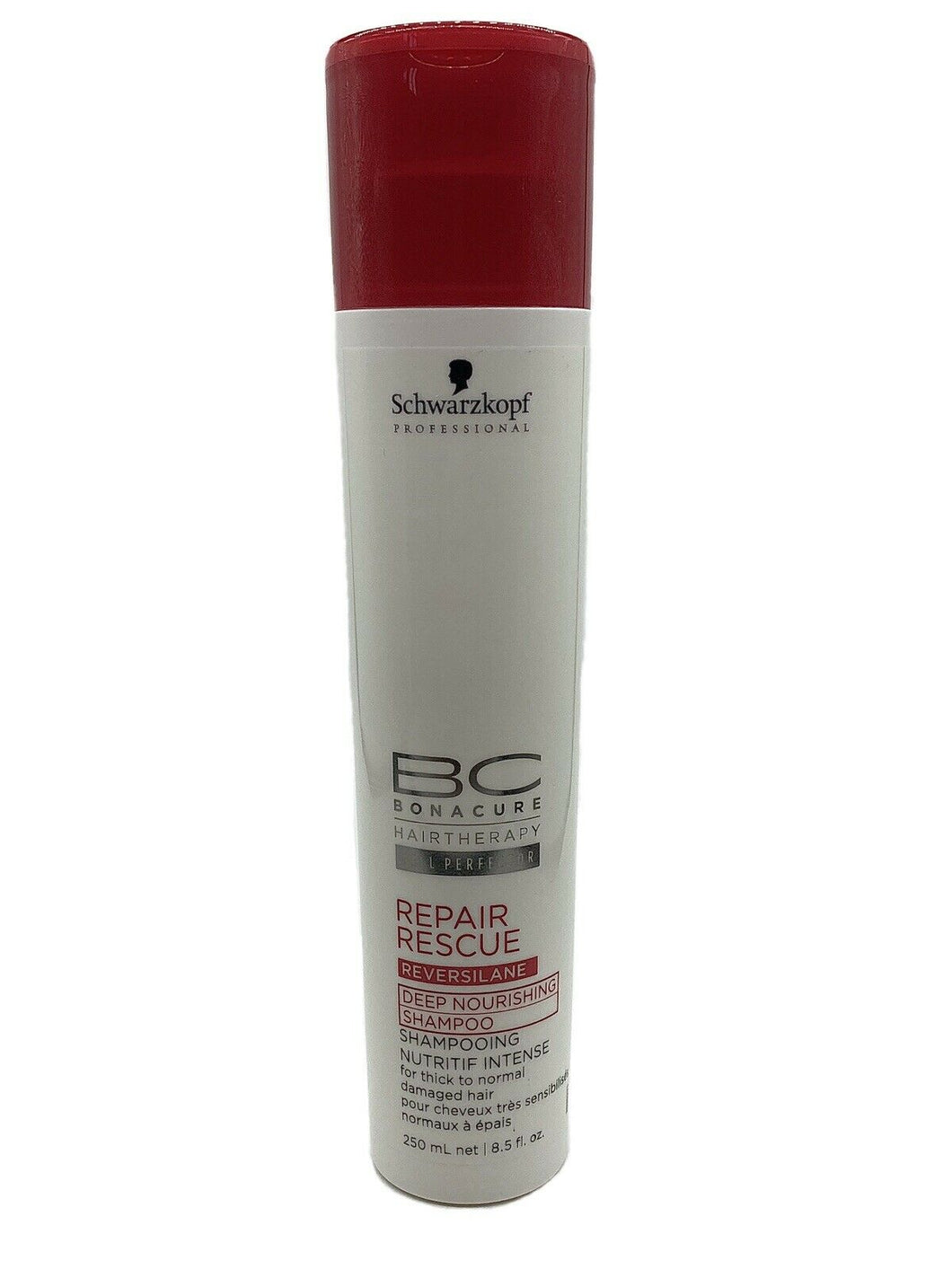 SCHWARZKOPF BC HAIR THERAPY REPAIR RESCUE DEEP NOURISHING SHAMPOO 250ml