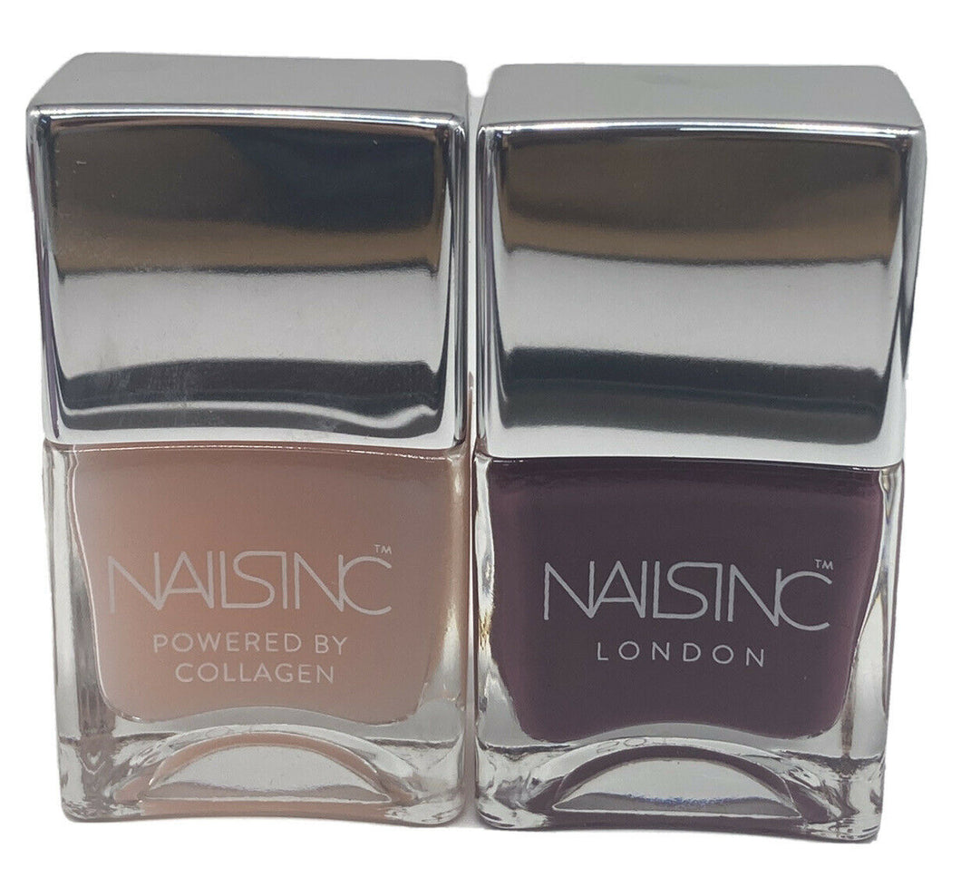 NAILS INC 'CHESTER TERRACE MEWS' AND 'OVERNIGHT DETOX REPAIR MASK' SET 2x14ml