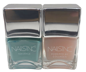 NAILS INC 'CLAREMONT STREET' AND 'OVERNIGHT DETOX REPAIR MASK' SET 2x14ml