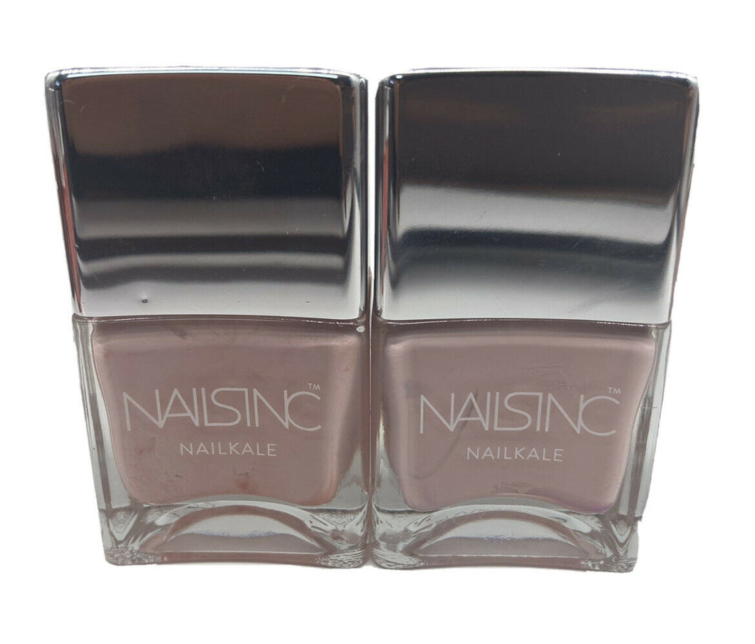 NAILS INC NAILKALE 'MAYFAIR LANE' NAIL POLISH 14ml Set Of 2