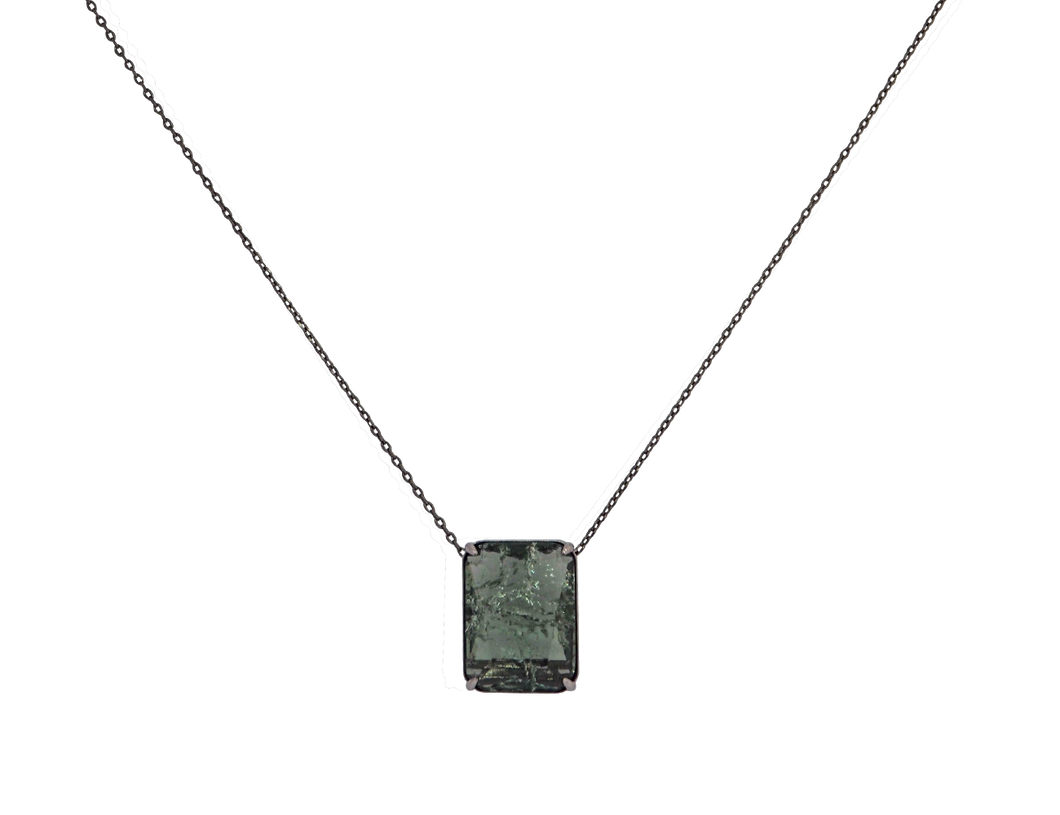 Fusion Stone Long Necklace