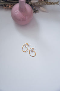 Pearl Wave Earrings