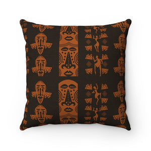 Mask Square Pillow - AFROSWAGG5