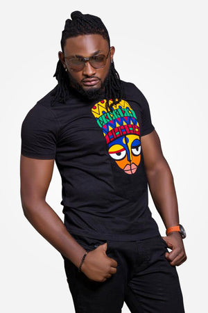 African Ethnic T-shirt - (Aboki) - AFROSWAGG5