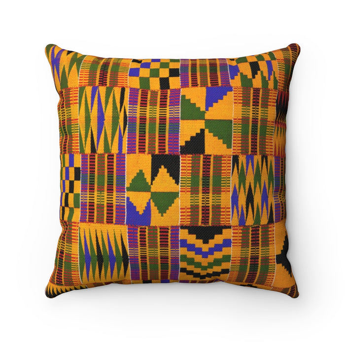 Kente Square Pillow