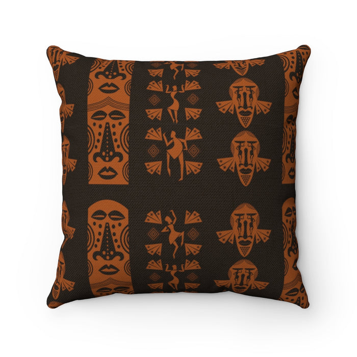 Mask Square Pillow