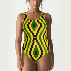 Hourglass kente Swimsuit